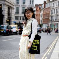 Athena Chang, textile design student