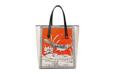 JW Anderson printed canvas shopper