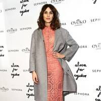 Alexa Chung Eyeko collaboration launch, New York - December 18 2013