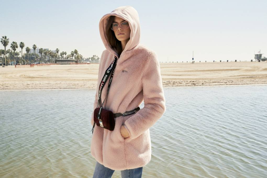 25477ba632c Karl Lagerfeld Unveils Kaia Gerber Capsule Collection