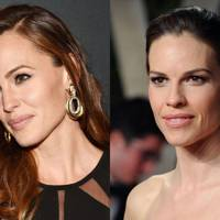 Jennifer Garner and Hilary Swank