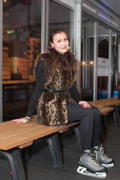 Yulia Vorobieva, stylist
