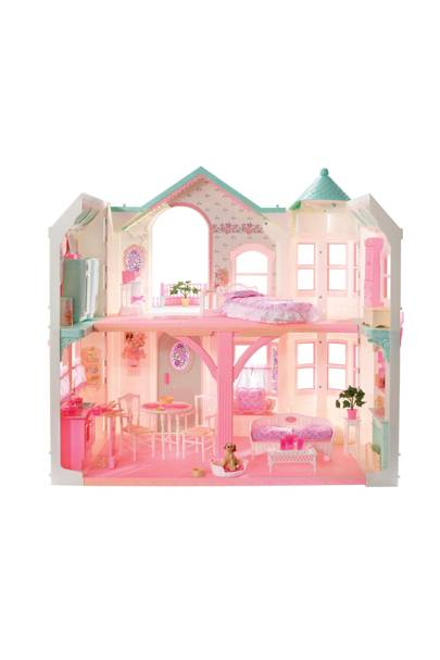 Barbie's 1998 Deluxe Dreamhouse