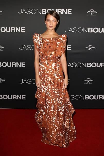 Jason Bourne premiere, Sydney - July 3 2016