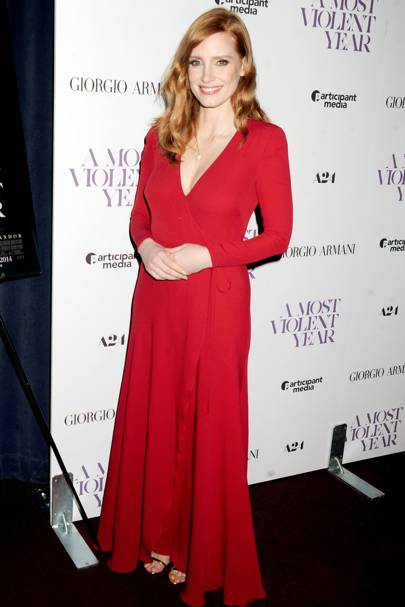 A Most Violent Year premiere, New York - December 7 2014