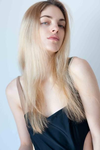 Naomi Preizler, model and artist
