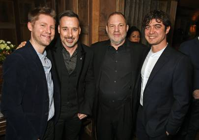 Burberry and Harvery Weinstein's pre-BAFTA dinner - February 10 2016