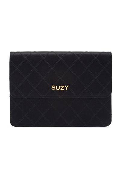 Chanel personalised clutch bag