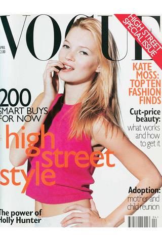 British Vogue, April 1996