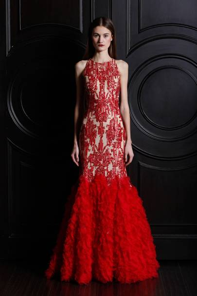 Naeem Khan dress, available at ON Motcomb
