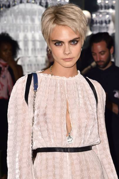 Cara Delevingne Hair Hairstyles British Vogue