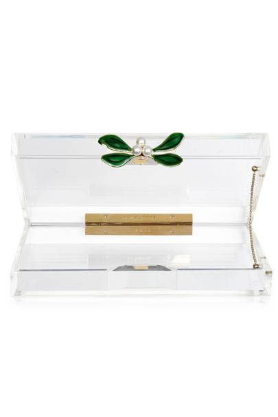 Mistletoe Pandora clutch bag