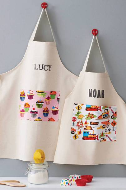 Named apron