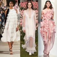 Best pale pink wedding dresses british vogue the best alternative wedding dresses junglespirit Images