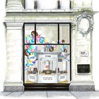 df0e4673f034 Fendi will be the next resident of the Corner Shop at Selfridges with the  launch of a new pop-up. The Italian brand will transform the space