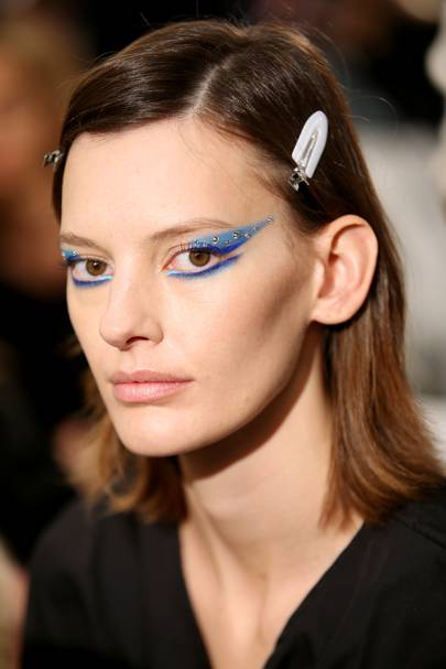 Image result for runway beauty look 2018
