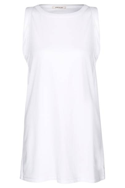 White cotton vest, £20