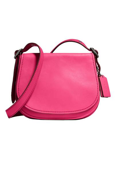 The Coach Saddle Bag