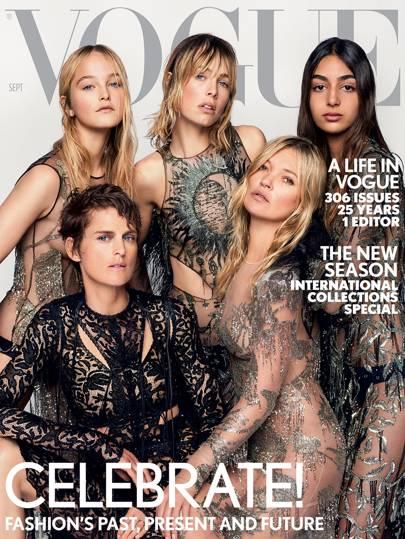 British Vogue, September 2017