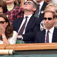 Wimbledon 2014 with Prince William