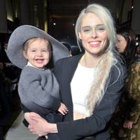 Model Coco Rocha and daughter Ioni