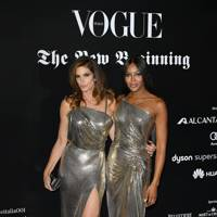 Cindy Crawford and Naomi Campbell