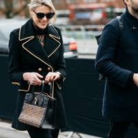 Coat: The gilded military peacoat