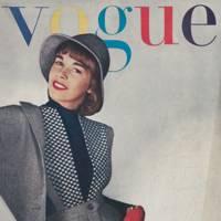 Vogue Cover, January 1944