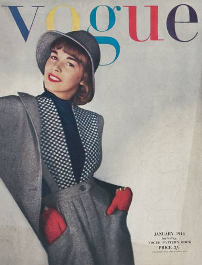 Vogue Cover, January 1944