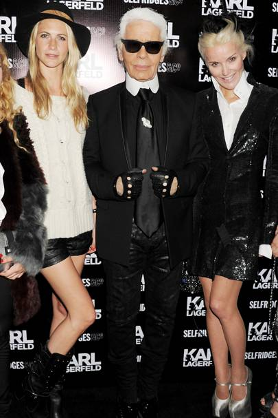July: Karl Lagerfeld London Launch
