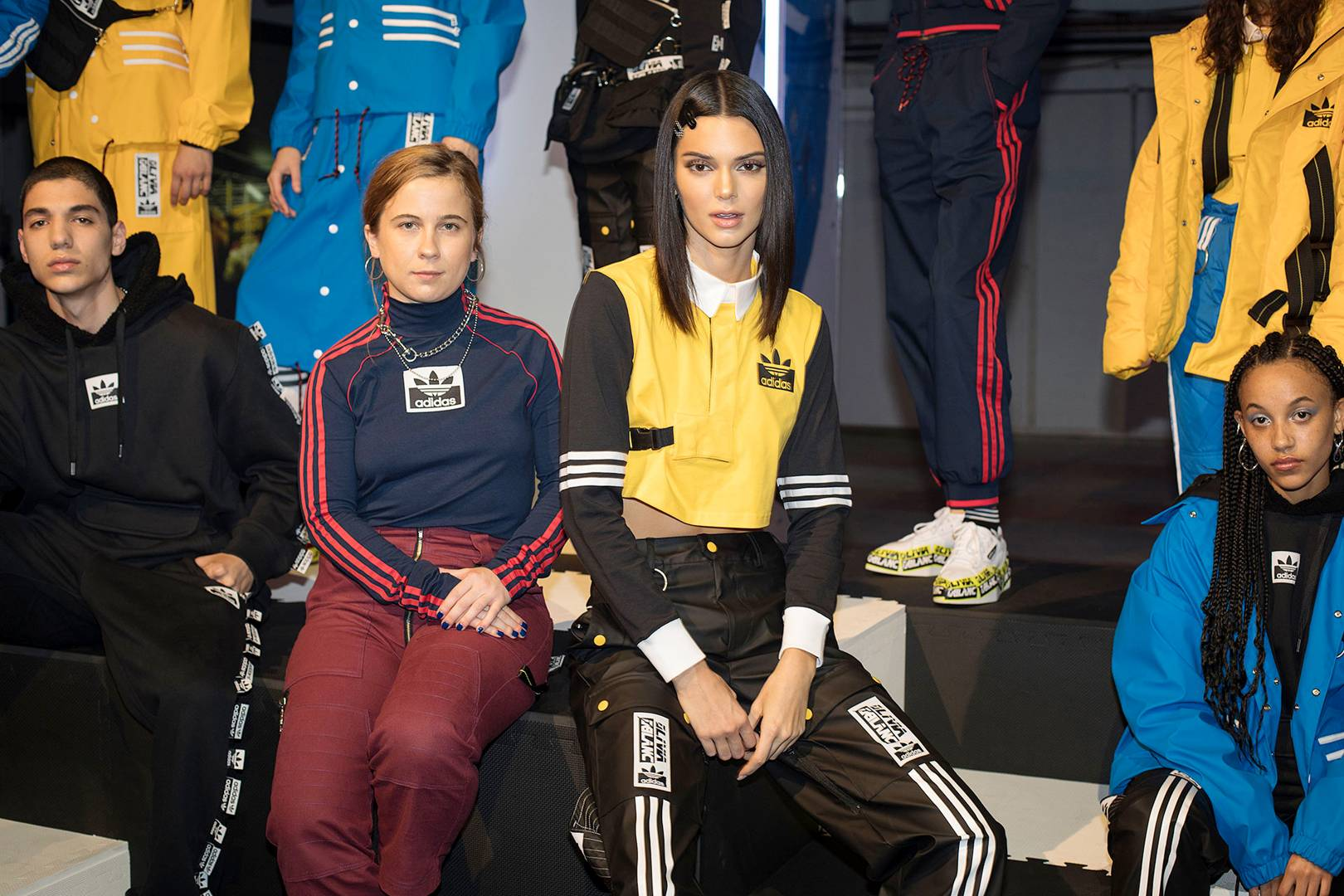 fa49cc77464 Behind The Scenes With Kendall Jenner On her Latest Adidas Campaign    British Vogue