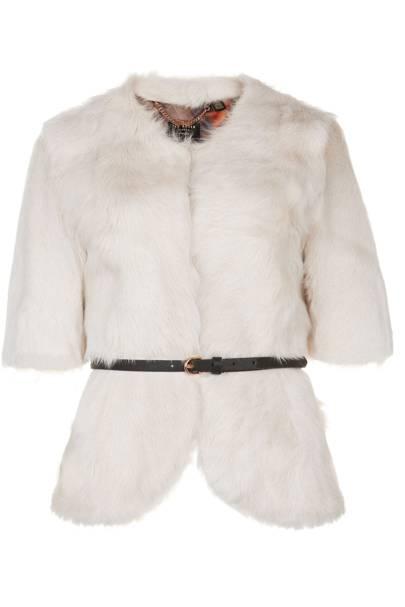 Cropped jacket, £499
