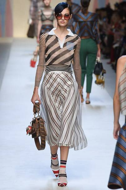 e0d66716aa4 Fendi Spring Summer 2018 Ready-To-Wear show report