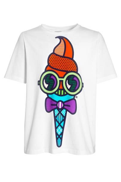 Mr Quiffy T-shirt, £50