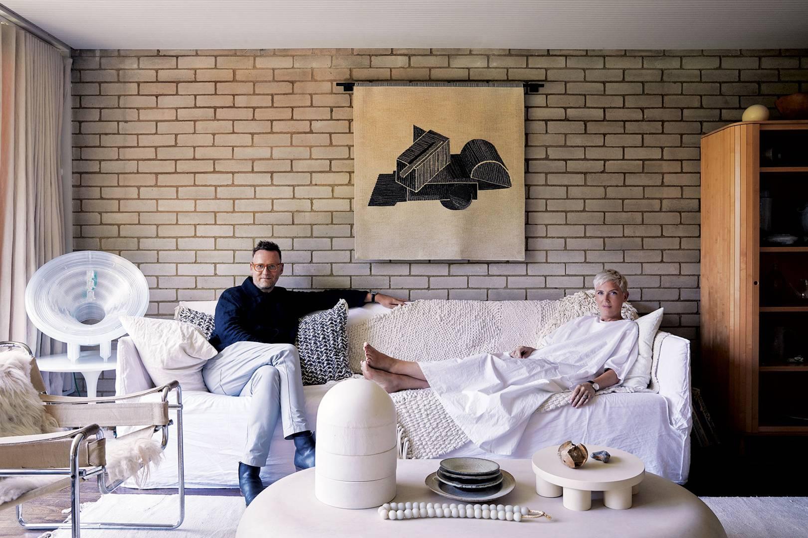 Inside faye toogoods restored modernist home
