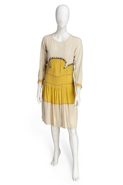 Jeanne Lanvin day dress