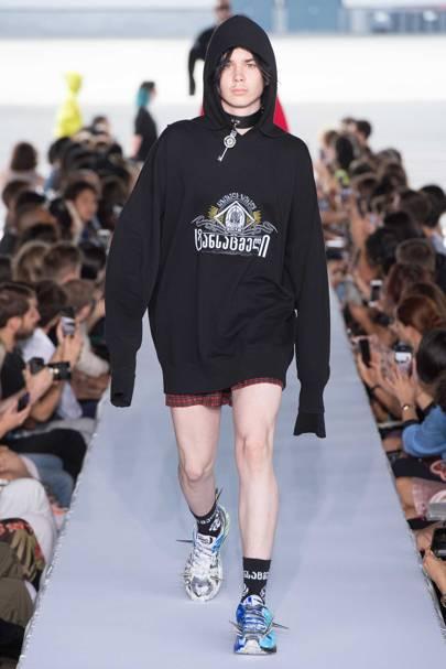 5f7f614e9 Vetements Spring/Summer 2019 Menswear show report | British Vogue