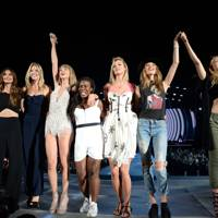 Candice Swanepoel, Lily Aldridge, Martha Hunt, Uzo Aduba, Karlie Kloss, Behati Prinsloo and Gigi Hadid - New Jersey