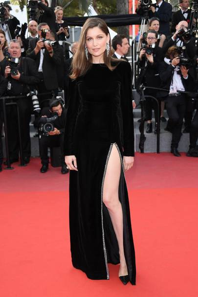 Laetitia Casta in Saint Laurent