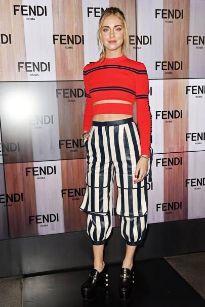 The Fendi show - February 23 2017