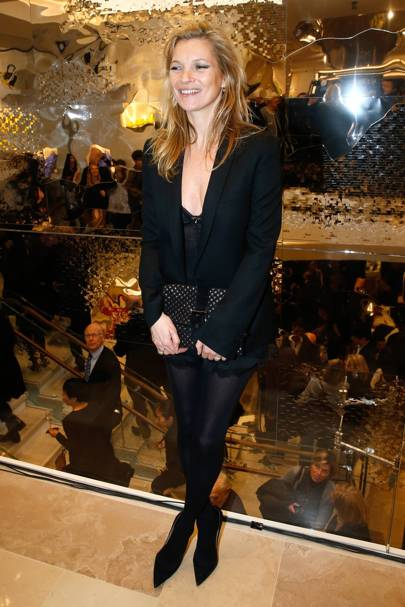 Longchamp store opening, Paris - December 4 2014