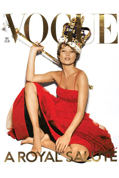 Vogue Cover, December 2001
