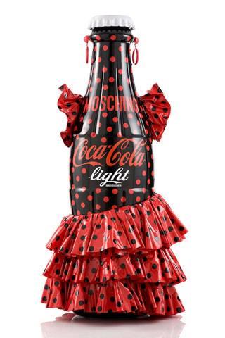 ca1e369774 Moschino s Coca-Cola bottle