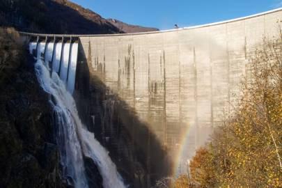 Contra Dam, Ticino, Switzerland