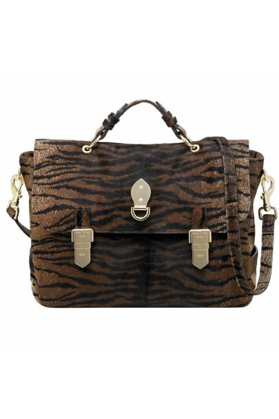 2a46811b1e MULBERRY - Oversized Tillie in Oak Bengal Tiger Haircalf - £2043 (from the  spring summer 2011 Catwalk Collection