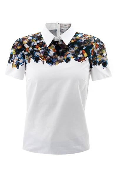Erdem Narcisse flower print top, £540