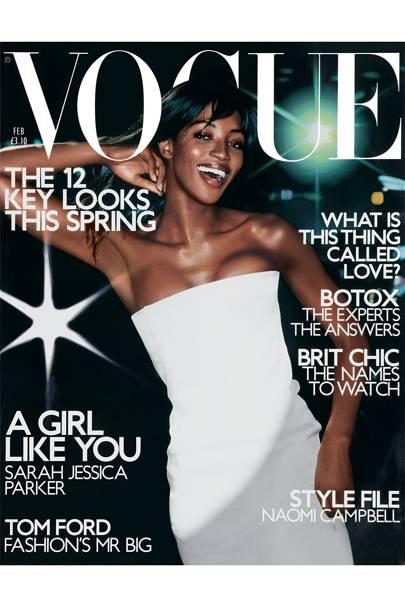 Vogue Cover, February 2001