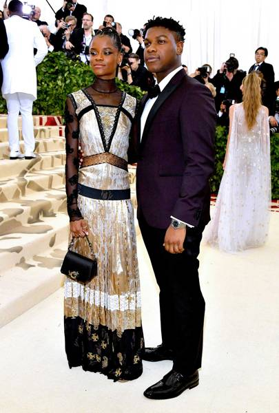 Letitia Wright and John Boyega