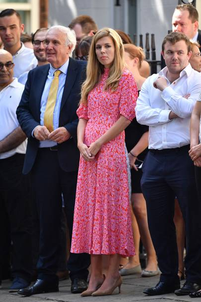 Meet Carrie Symonds The Most Watched Woman In Westminster British