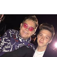 Elton John and Brooklyn Beckham